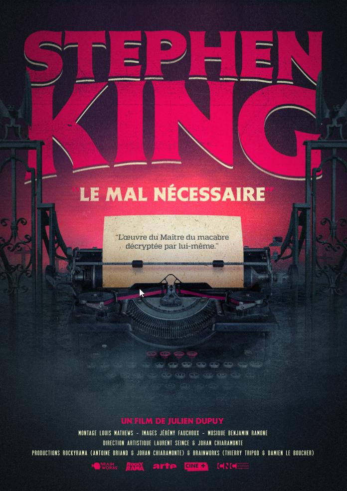 Affiche du film Stephen king le mal nécessaire