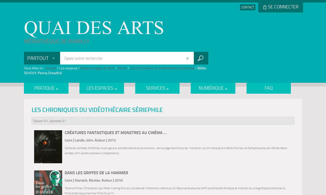 BetaSeries, le site